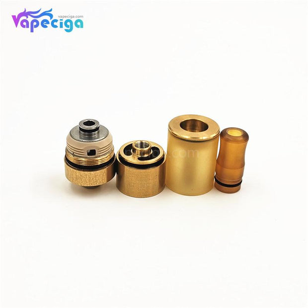 Dvarw 16 Style RTA 16mm 2ml Gold Components