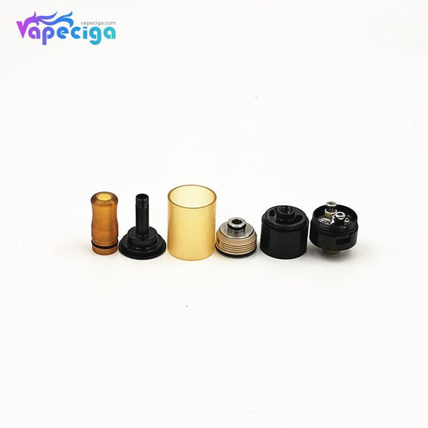 Dvarw 16 Style RTA 16mm 2ml Black Components