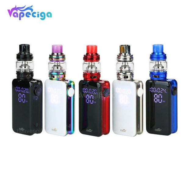 Eleaf iStick Nowos 80W VW Mod Kit with ELLO Duro Tank 4400mAh 6.5ml 5 Colors Optional