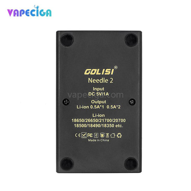 Golisi Needle 2 Smart USB Charger Back View