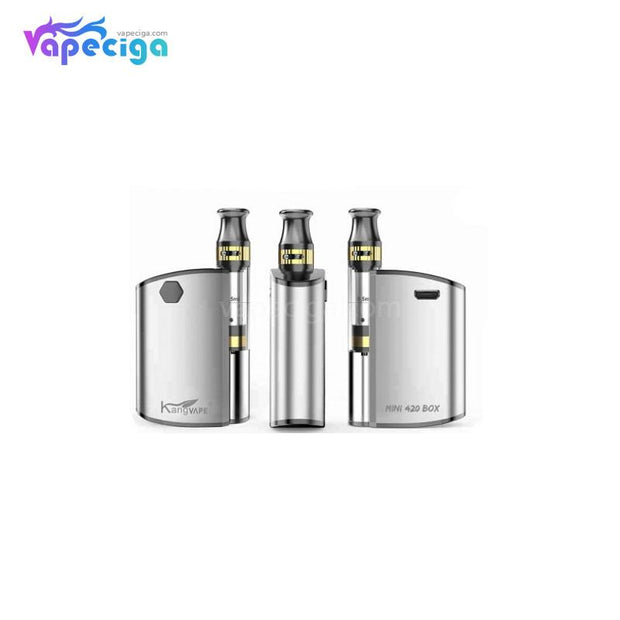 Kangvape Mini 420 VV Box Mod Kit 400mAh 0.5ml Overview