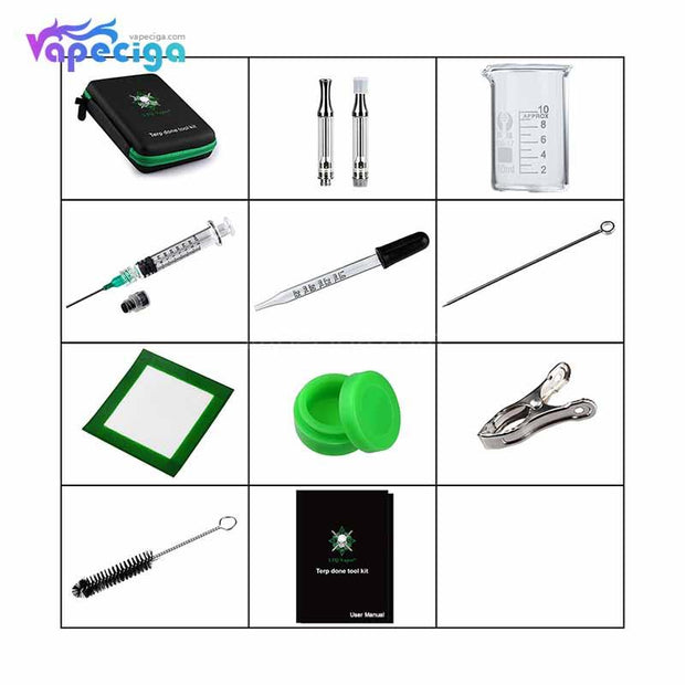 LTQ Vapor Terp Done Tool Kit Includes