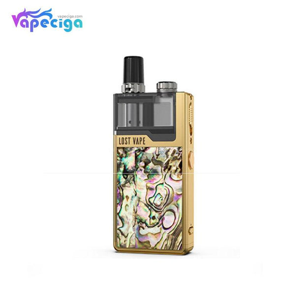 Gold-Gold Abalone Lost Vape Orion Plus DNA GO Vape Pod System Starter Kit