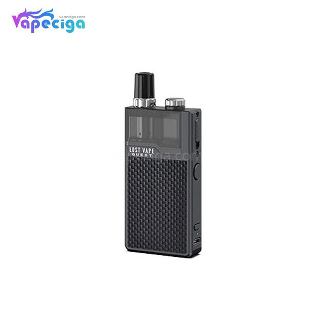 Lost Vape Orion Q-PRO Pod System VW Starter Kit Weave Series Black/Weave