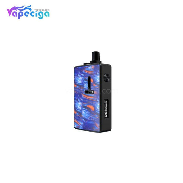 MECHLYFE Ratel XS Rebuildable TC Mod Kit 80W 5.5ml Black & Resin Blue