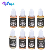 New Bigbone E-liquid 40PG / 60VG 0mg / 3mg 30ml 8 Flavors