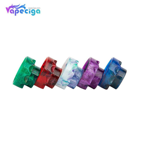 REEVAPE AS108 Short Resin 810 Drip Tip 5 Colors Options
