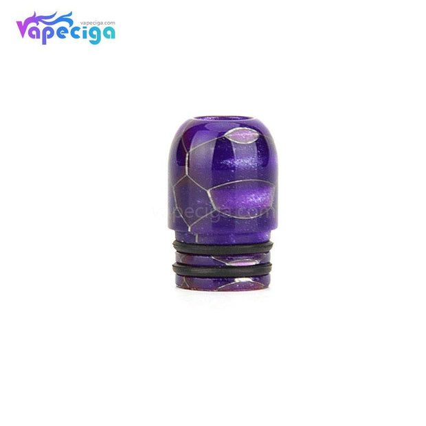 Purple REEVAPE AS109SS Resin 510 Drip Tip