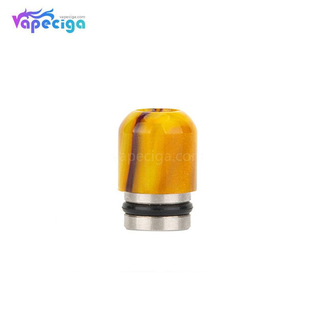 REEVAPE AS109 Resin + Yellow Stainless Steel 510 Drip Tip