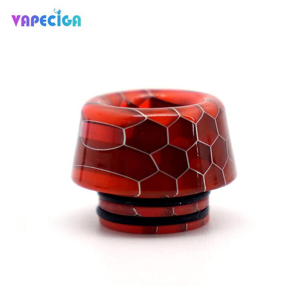 Resin 810 Drip Tip Red