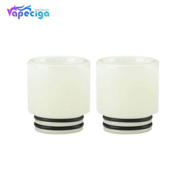 Resin Luminous 810 Drip Tip with Large Bore Translucent