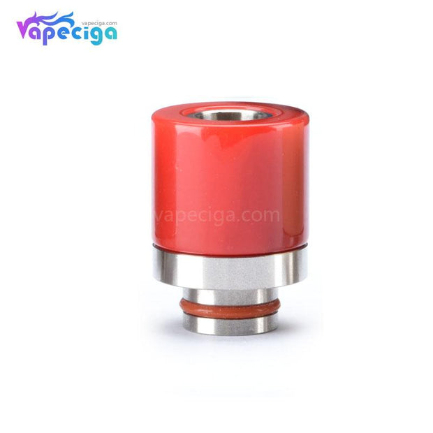 Resin + Stainless Steel 510 Drip Tip 5 Optional Colors