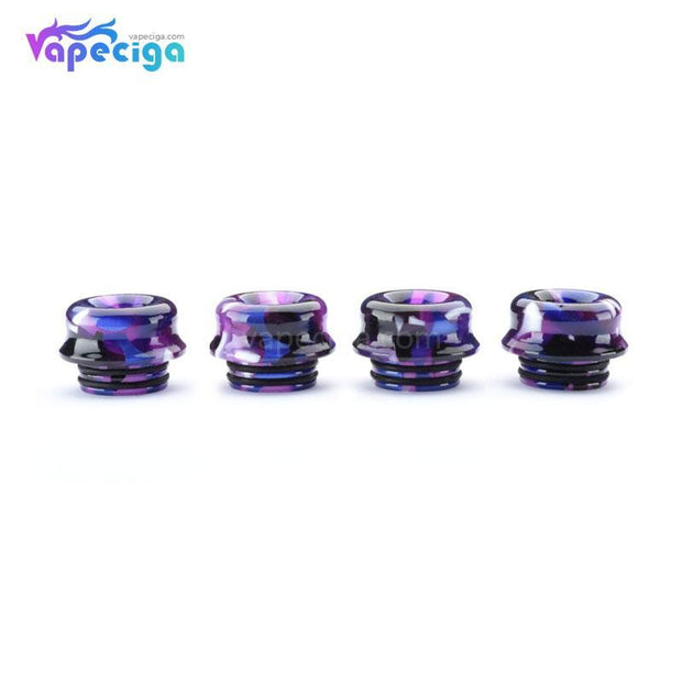 Resin Van Gogh 810 Curved Drip Tip Random Color