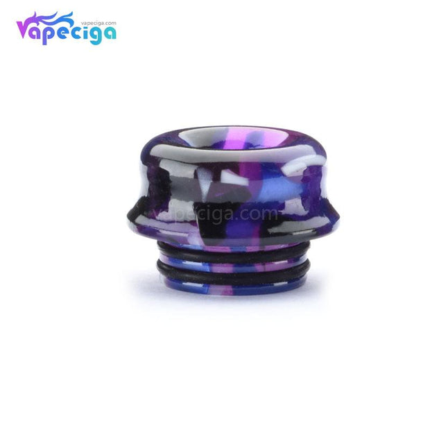 Resin Van Gogh 810 Curved Drip Tip Real Shots