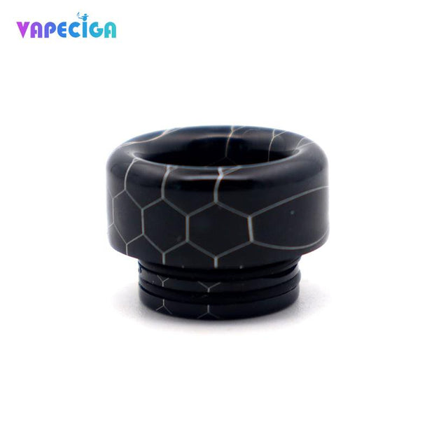 Resin Wide Bore 810 Drip Tip 4PCs Black
