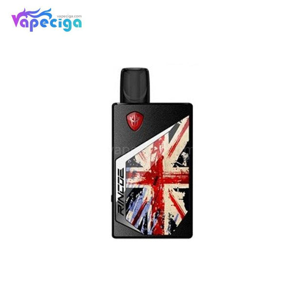 Rincoe Tix Vape Pod System Starter Kit UK Flag