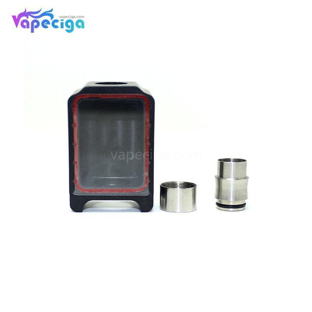 Black SXK Bora Style Replacement Tank Tube for BB Style Box Mod
