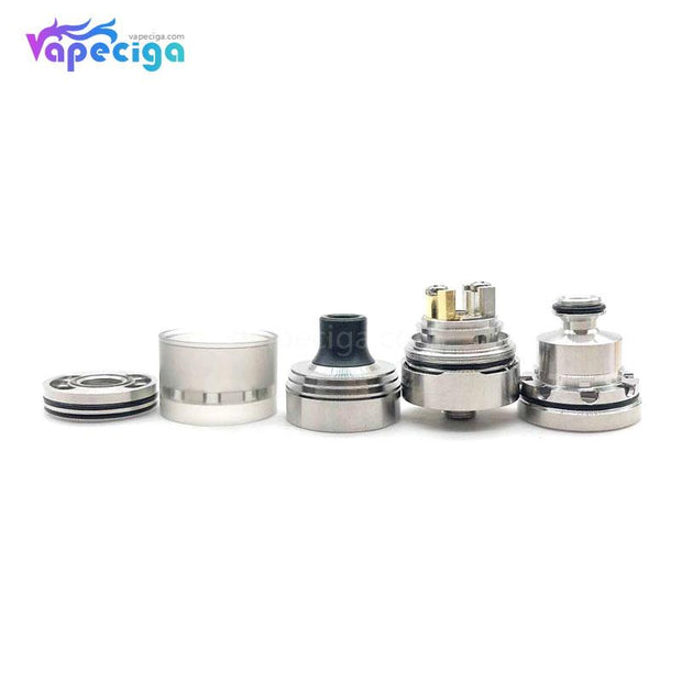 SXK Hussar V1.5 Style RTA 2ml 22mm Components