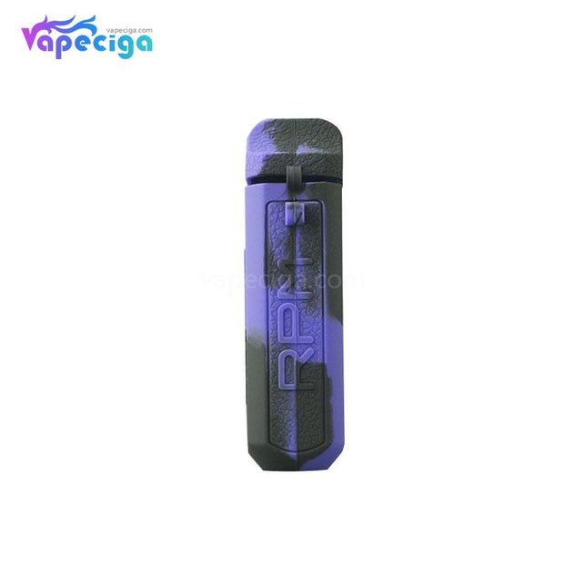 Silicone Protective Case Black Purple for Smok RPM Vape Pod System