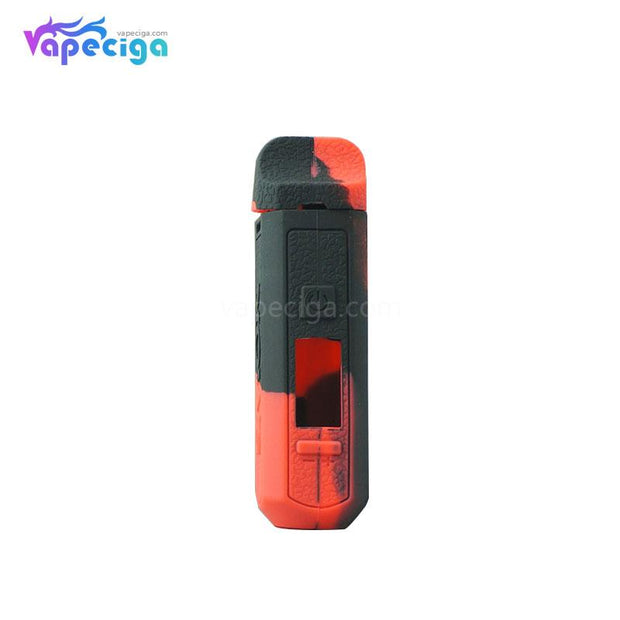 Silicone Protective Case Black Red for Smok RPM Vape Pod System