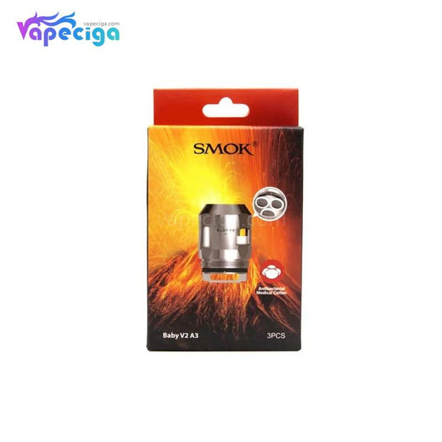 Smok TFV8 Baby V2 A3 Replacement Coil Head Package