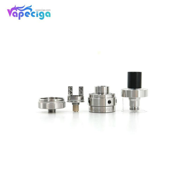 Silver Steam Crave Aromamizer V2 RDTA 23mm 3ml Components