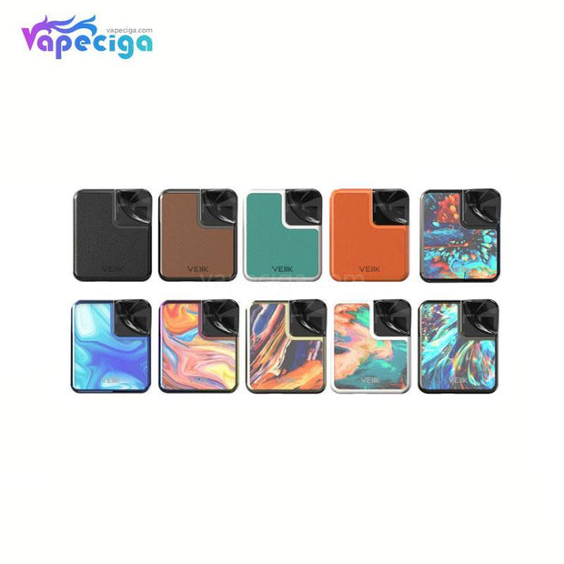 VEIIK Cracker Vape Pod System Starter Kit 500mAh 2ml 2 Versions 10 Colors Available