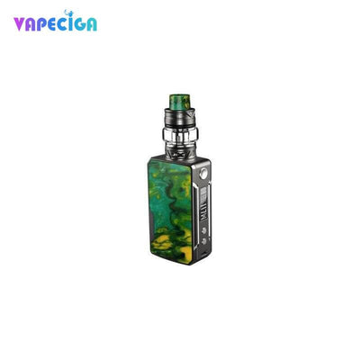 Platinum-Lime VOOPOO Drag Mini Platinum TC Mod Kit