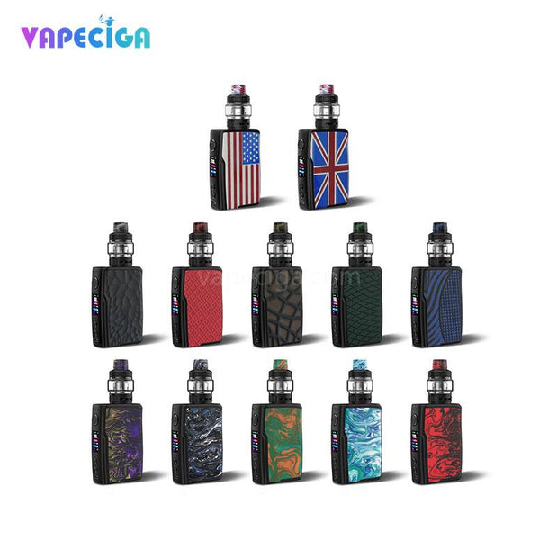 Vandy Vape Swell TC Box Mod Kit Colors Available