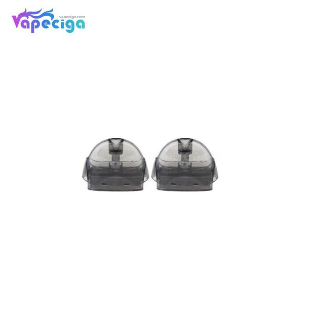 Black VapeCige VTX Replacement Pod Cartridge 2ml 2PCs