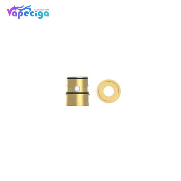 Vapefly Kriemhild Replacement Ni80 0.2ohm Single Mesh Coil Head Gold