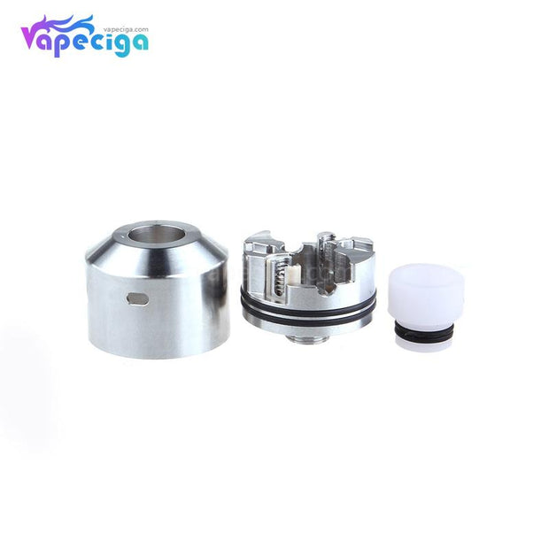 Silver YFTK NAREA Style RDA 22mm Components