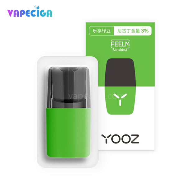 YOOZ Replacement Pod Cartridge 2ml 4PCs Chinese Version Mung Bean