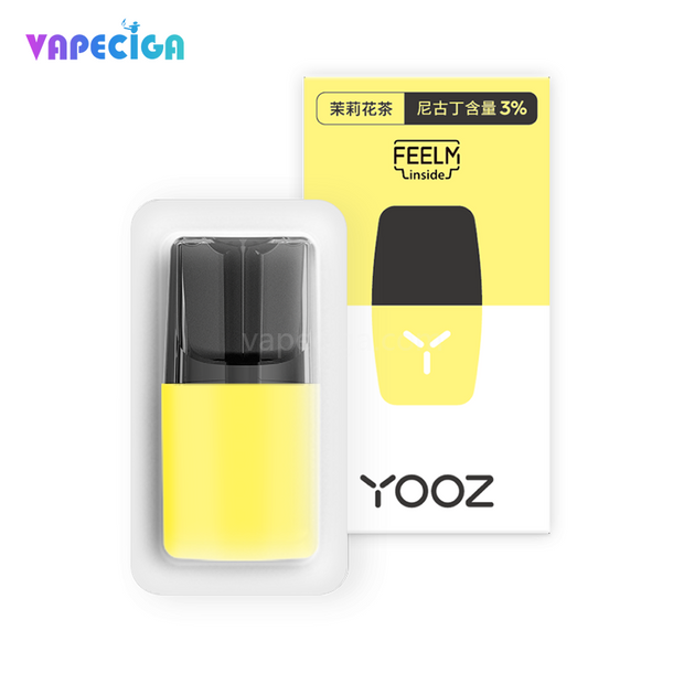 YOOZ Replacement Pod Cartridge 2ml 4PCs Chinese Version Jasmine Tea