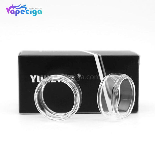 YUHETEC Replacement Glass Bubble Tank Tube Display
