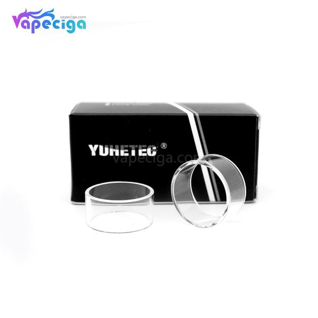YUHETEC Replacement Kylin M 3ml Tank Tube Stright Clear 2PCs Real Shots