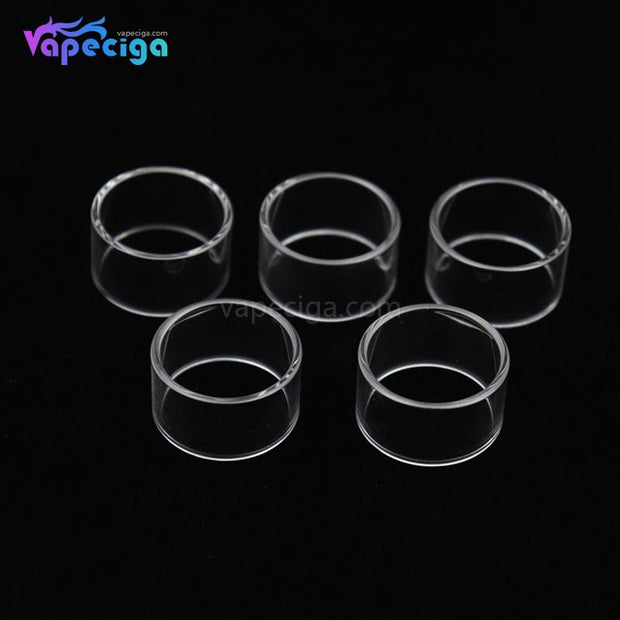 YUHETEC Replacement Tank Tube for Geekvape Blitzen 4ml RTA Straight Version 5PCs