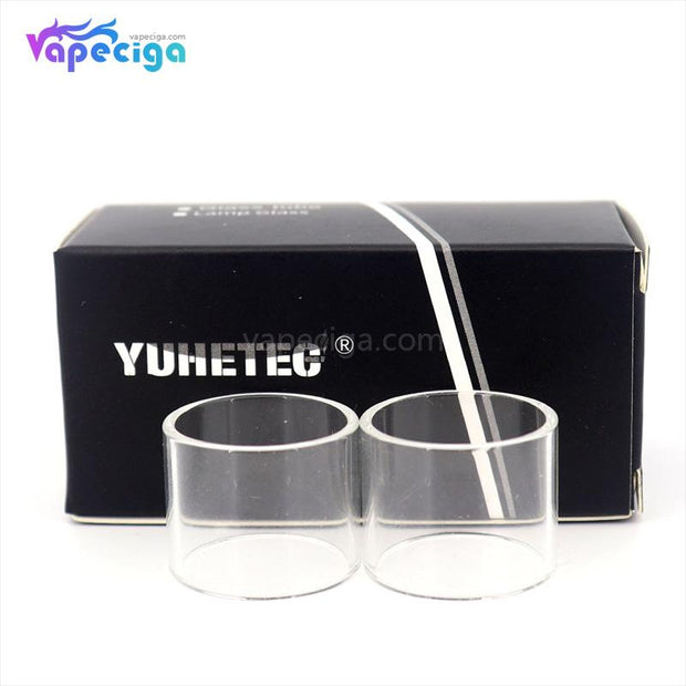 YUHETEC Replacement Straight Tank Tube for Smok TFV8 Big Baby Tank 5ml 2PCs