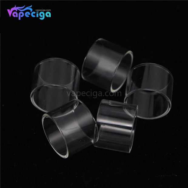 YUHETEC Replacement Straight Tank Tube for Smok Stick V8 5PCs