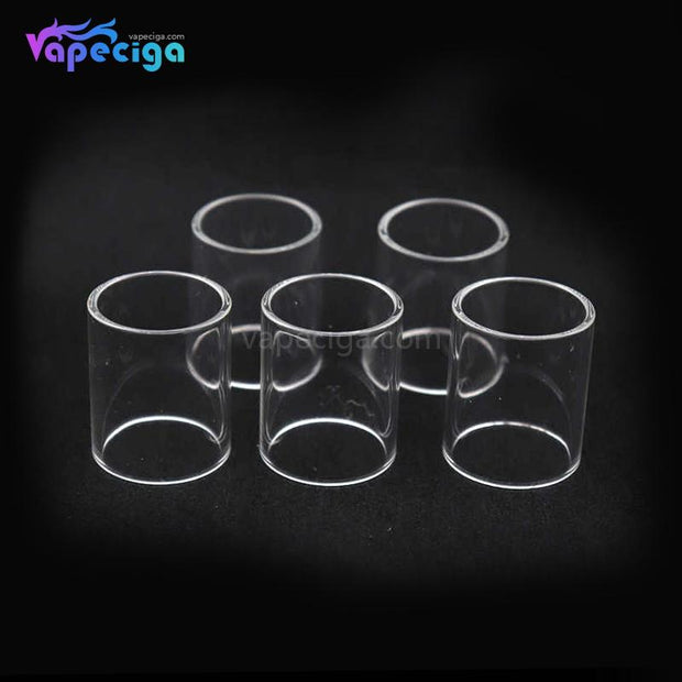 YUHETEC Replacement Straight Tank Tube for Wotofo Serpent Mini 22mm 2ml 5PCs