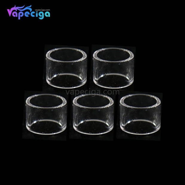 YUHETEC Replacement Straight Tank Tube for Wotofo The Troll RTA 5ml 5PCs