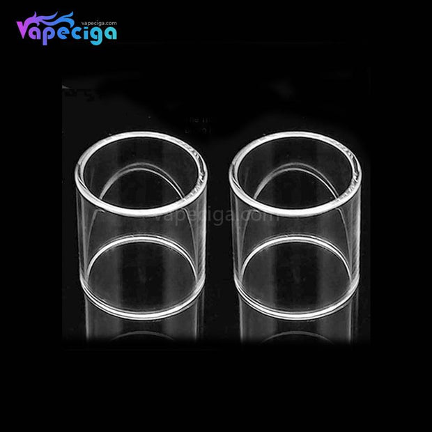 YUHETEC Replacement Straight Tank Tube for Wotofo Flow Tank 4ml 5ml 2PCs