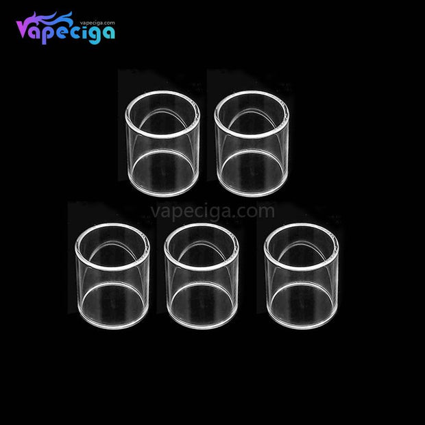 YUHETEC Replacement Straight Tank Tube for Wotofo Flow Tank 4ml 5ml 5PCs