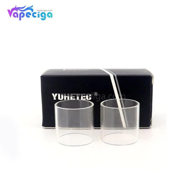 YUHETEC Replacement Straight Tank Tube for Wotofo Bravo RTA 4.5ml 5ml 2PCs