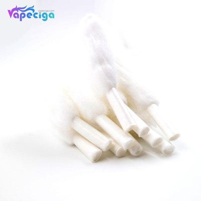 White Yachtvape Vape Wicking Cotton for Meshlock RDA