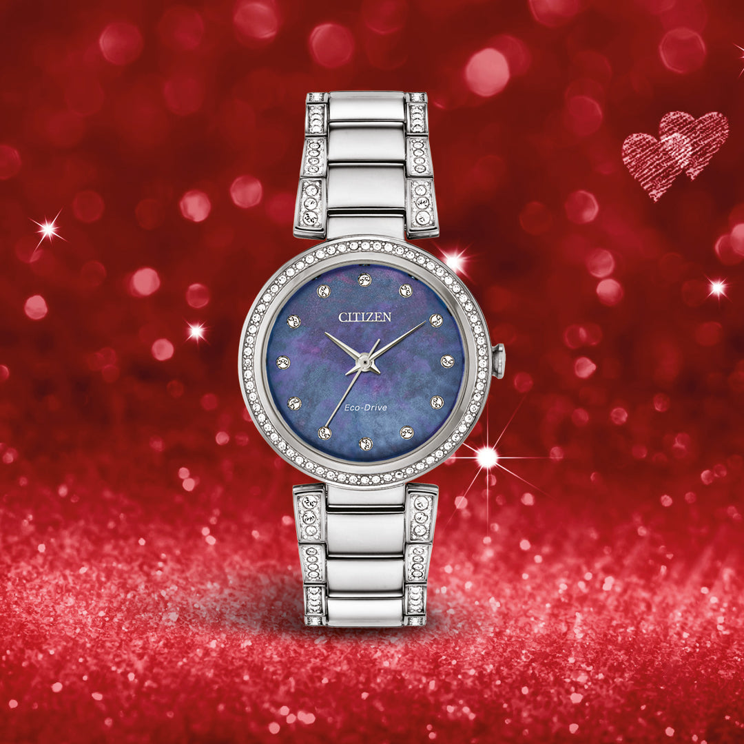 Citizen Ladies Silhouette Crystal   EM0840-59N - Cahalan Jewellers