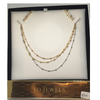 Three tone necklace from the Yo Jewels Collection