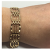 9ct Gold Mesh Gate Bracelet