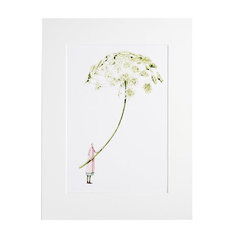 "Ammi ""In Bloom"" Mounted Print"