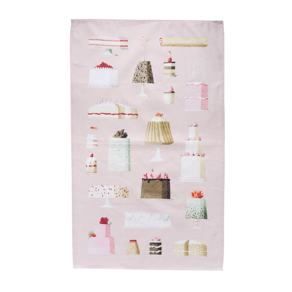 Cakes Tea Towel